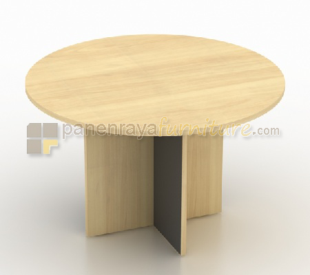 MEJA MEETING MODERA BUNDAR 120CM MAPLE