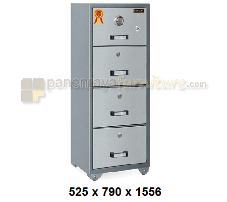 FILLING CABINET FIREPROOF INDACHI DFC-4 D