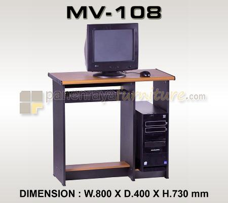 MEJA KOMPUTER VIP MV 108 80cm
