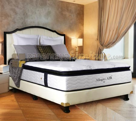 SPRING BED  AIRLAND ALLEGRO AIR SCARLET 160