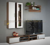 Panen Raya MEJA TV WALL UNIT MOCCA L