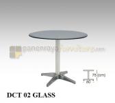 Panen Raya CAFE TABLE INDACHI DCT 02 GLASS