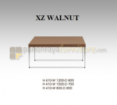 Panen Raya COFFEE TABLE INDACHI XZ WALNUT