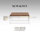 Panen Raya COFFEE TABLE INDACHI XZ WALNUT