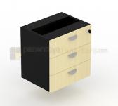 Panen Raya Laci Gantung Meja Samping Uno UFD 2160 (3 laci) Maple