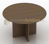 Panen Raya MEJA MEETING MODERA BUNDAR 120CM WALNUT