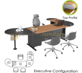Panen Raya WORKSTATION SET EURO DIAMOND EXECUTIVE CONFIGURATION A