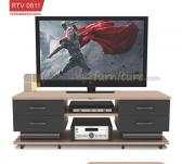 Panen Raya MEJA TV ROMARO RTV 0811 TANPA TV (SONOMA OAK - BROWN)
