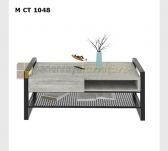 Panen Raya COFFEE TABLE 2 EXPO M CT 1048 GREY STONE-BLACK 108x60