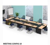 Panen Raya MEJA MEETING MODERA MEETING CONFIG 10 SEATER MAPLE 570x160