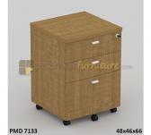 Panen Raya LACI DORONG MODERA PMD 7133 Classic Walnut
