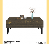 Panen Raya COFFEE TABLE 3 EXPO CT 1015 OLD WOOD 10x60