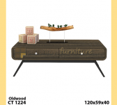 Panen Raya COFFEE TABLE 3 EXPO CT 1224 OLD WOOD 120x59