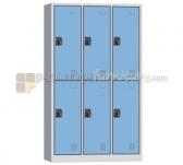 Panen Raya LOCKER 6 PINTU MODERA ML 886 B BLUE GREY 105x40x185