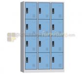 Panen Raya LOCKER 12 PINTU MODERA ML 8812 B BLUE GREY 105x40x185