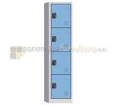 Panen Raya LOCKER 4 PINTU MODERA ML 884 B BLUE GREY 43x40x185