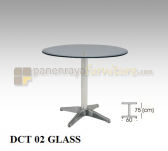 Panen Raya CAFE TABLE INDACHI DCT 02 GLASS D 70